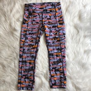 Lululemon 5 pocket Cropped Joggers